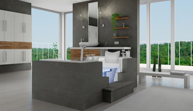 Beispiel 3D Badezimmer