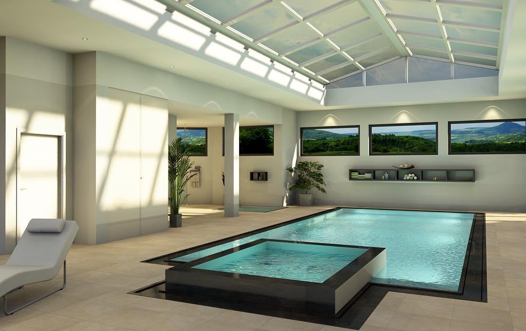 Fliesen Pool Hallenbad