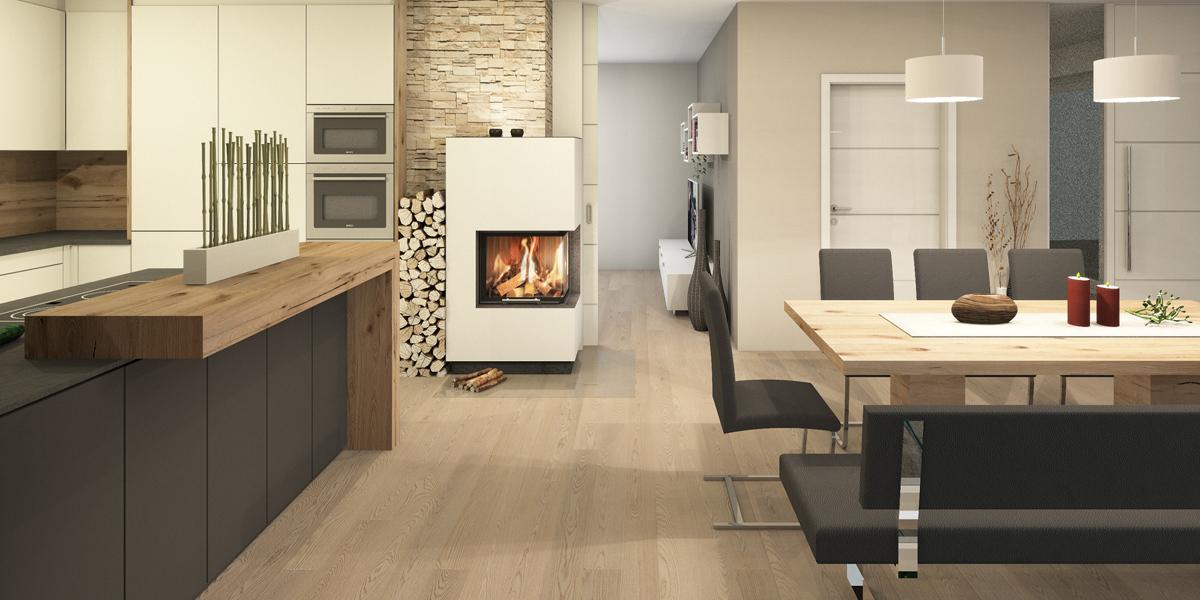 Beispiel 3D Wohnraum
